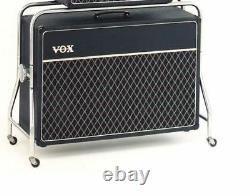 Vox Ac-50 Petite Box 2x12 Speaker Cabinet Avec Trolley Repro Vinyl Cover (vox068)