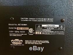 Vox Ac15hw1 Édition Limitée Ac15 Custom Noir Handwired Haut-parleur Wgs Z Ac30 Dr
