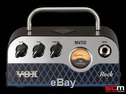 Vox Mv50cr-set Amplificateur Guitare Stack Classic Rock Et 1 X 8 Haut-parleurs
