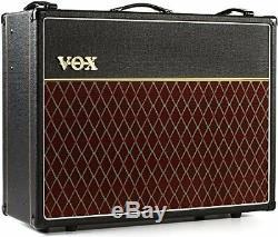 Vox Vox Tube Amplificateur De Guitare 30w Avec Enceinte Alnico Blue Ac30c2x