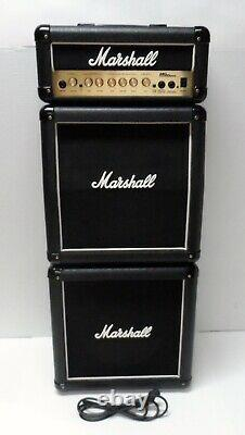 Vtg Marshall Mini Micro Stack Bas Enceinte Cabine Cabinet Seulement 1x10 Plomb 15 Ms