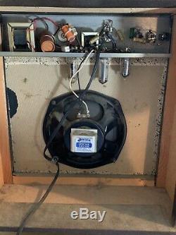 Vtg Sur Mesure Kraft 600a Tube Amp Pour Guitare Jensen Chicago Président Valco