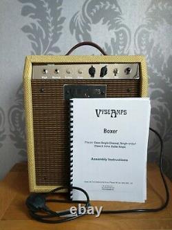 Vyse Amps Boxer Vintage Tweed, Haut-parleur Jensen Et Power Soak