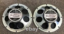 (paire) Weber C8rs-8 Guitar Speaker 8 8 Ohm 15 Watts New Old Stock